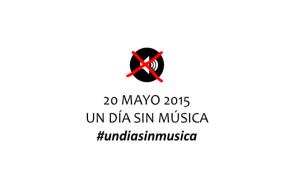 Este 20 de mayo se celebra la jornada de protesta UN DÍA SIN MÚSICA