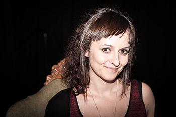 """Freya García, autora de """"Sombrimbras""""."""