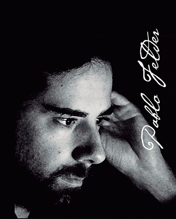 """Pablo Felder, autor de """"El rey tras el cristal oscuro""""."""