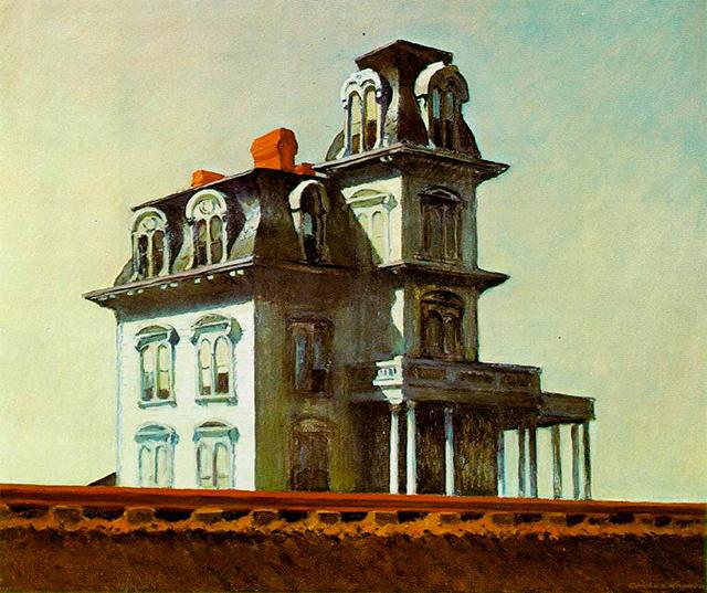 """""""Casa junto a la vía del tren"""", 1925."""