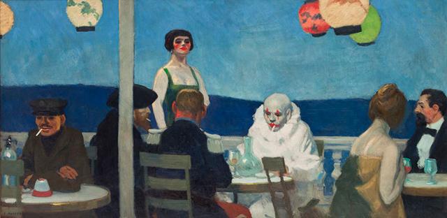 """Soir Bleu"", 1914."