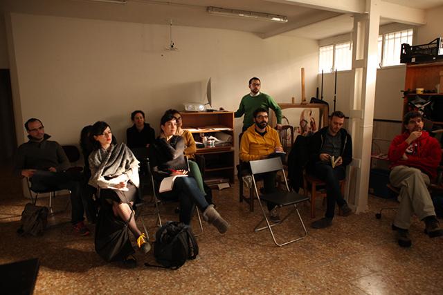 Una de las sesiones en Atelier Solar.